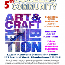 5th Art & Craft Exhibition 2018