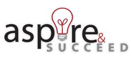 Aspire & succeed logo